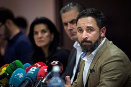 Las condiciones de Abascal para empezar a negociar con PP y Ciudadanos en Andalucía
