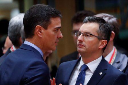 Sánchez habla con su homólogo esloveno tras la polémica por la visita de Torra a Eslovenia