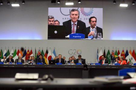 El G20 se une contra el cambio climático frente al rechazo de Trump