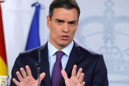 Sánchez arremete contra el pacto de C's y el PP que desalojará al PSOE de la Junta