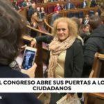 El Congreso abre sus puertas a los ciudadanos por segundo día consecutivo