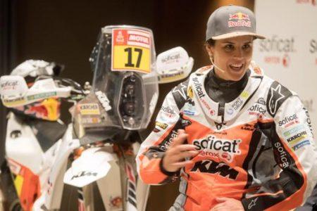 Laia Sanz: «Estoy preparada para sufrir en este Dakar»