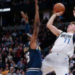 El mejor partido de Doncic en la NBA acaba sin premio