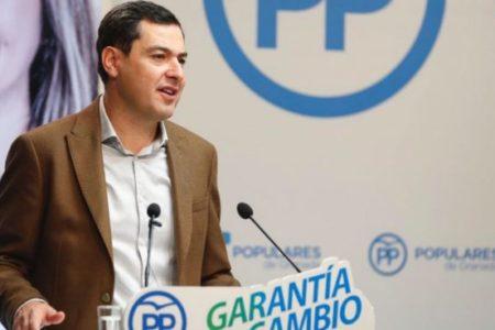 """Moreno defiende su reunión con VOX y dice que el PP puede hablar """"con quien quiere y como quiere"""""""