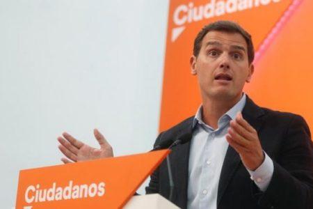 """Albert Rivera dice en relación a las huelgas en Cataluña que """"con la estelada no se come"""""""