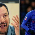 Salvini ataca duramente a Higuaín