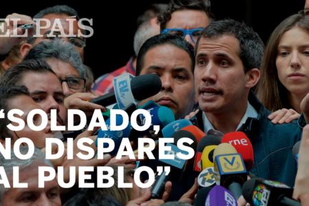 """""""Si el Ejército está con Maduro, acá no pasará nada"""""""