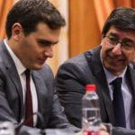 """Rivera celebra que el nuevo Gobierno andaluz """"se parezca más a la sociedad civil"""""""