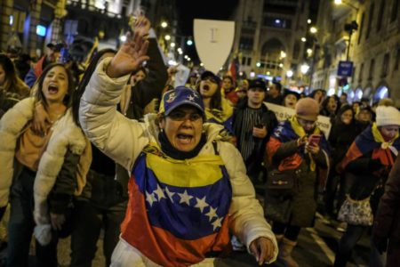 La crisis de Venezuela expone la división internacional