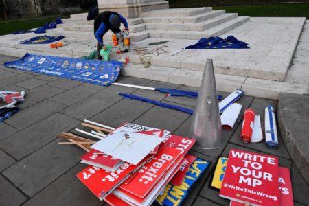 May interviene a la desesperada en el Parlamento para intentar evitar su derrota en el acuerdo del Brexit