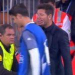 Morata y el premonitorio «vente conmigo al Atleti» que le lanzó Simeone