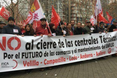 Una protesta de sindicatos y políticos llenará las calles de Andorra exigiendo el mantenimiento de las centrales térmicas