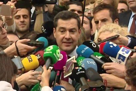 """Juanma Moreno: """"Este Gobierno nace con la vocación de cumplir la legislatura"""""""