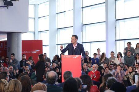 Sánchez pide al «PP y Cs que se abstengan o voten a favor de los presupuestos»