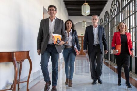 Ciudadanos se niega a cambiar el acuerdo de Gobierno en Andalucía con el PP para contentar a Vox