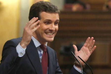 """Casado recalca que los datos de paro de 2018 demuestran que las reformas del PP """"dieron resultado"""""""