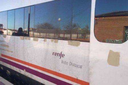 Los viajeros de un tren Zafra-Madrid averiado en Talavera obligados a acabar el trayecto en autobús