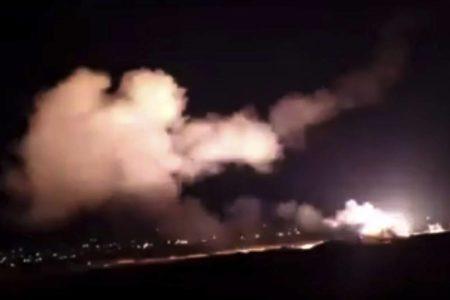 Siria acusa a Israel de lanzar varios misiles contra Damasco