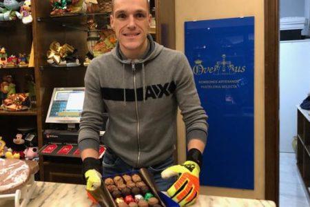 Javi Porrón, el portero más dulce del fútbol español