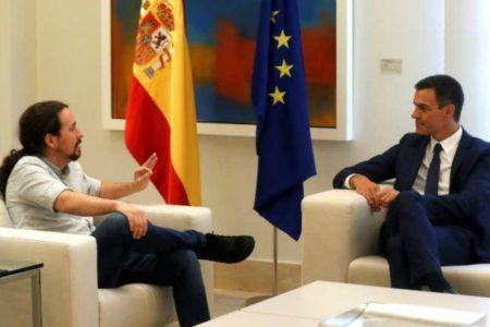 Podemos presiona a Pedro Sánchez para que no aplique los recortes que le exige Bruselas