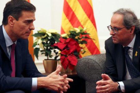"""Sánchez echa la culpa a PP y C´S de la deriva independentista: """"Quieren perpetuar la crisis"""""""