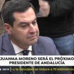 Juanma Moreno se somete al primer debate de investidura al que no aspira un candidato socialista en Andalucía