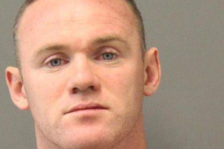 Rooney fue arrestado en diciembre en Estados Unidos por intoxicación pública