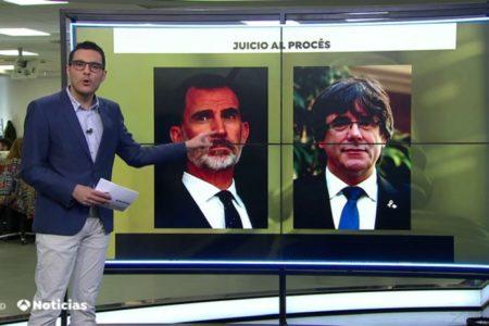 Líderes del procés piden al Tribunal Supremo que cite como testigo al Rey y Puigdemont