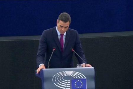 """Sánchez pide que """"ningún europeísta se deje arrastrar por las fuerzas del nacionalismo excluyente"""""""
