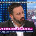 Santiago Abascal, sobre el acuerdo de Gobierno en Andalucía: «No íbamos a ser un obstáculo pero tampoco un felpudo»