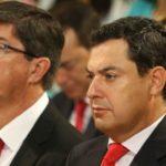 PP y C's acuerdan reducir el número de consejerías en un nuevo Gobierno andaluz