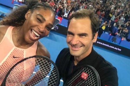 Así fue el histórico partido entre Serena Williams y Roger Federer