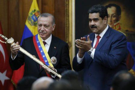 Turquía y Venezuela, amigos de conveniencia frente a Occidente