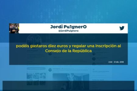 Puigdemont pide a los catalanes donaciones para sostener su Gobierno paralelo en Bélgica