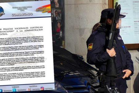 Los policías del Consejo de Ministros en Barcelona adelantaron de su bolsillo el dinero de las dietas