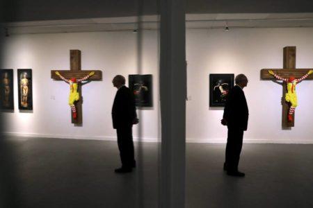 El Museo de Arte de Haifa retira el polémico 'McJesus'