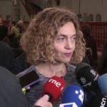 La ministra Batet pide a los independentistas que decidan su voto a los Presupuestos «en función del contenido»