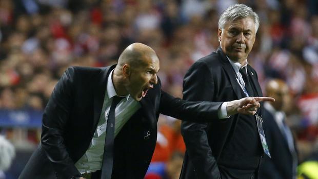 Ancelotti: «Zidane cambió mi idea de fútbol»