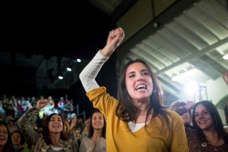 Reaparece Irene Montero con un mensaje reivindicativo del espíritu del 8M frente a los «odiadores profesionales» de Vox