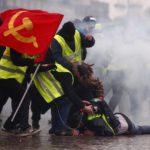 Casi 90 detenidos en la novena protesta de los 'chalecos amarillos'
