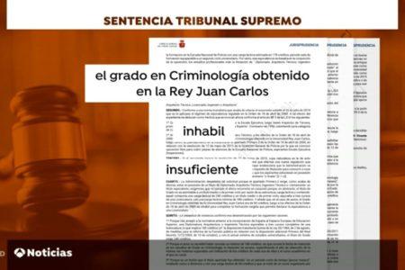 El Supremo anula 200 títulos de la Rey Juan Carlos obtenidos por policías