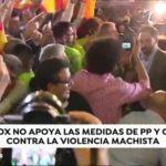 VOX no firmará el pacto PP-C´s por su acuerdo en materia de igualdad de género