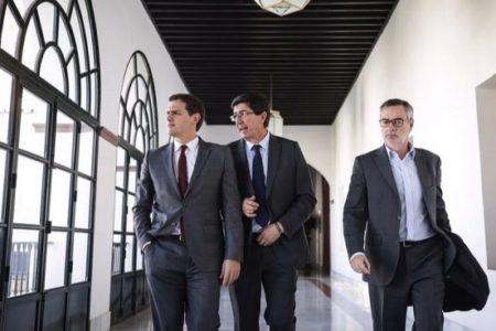 """Villegas admite que el Gobierno de Andalucía con el PP será un """"escaparate"""" para Ciudadanos"""