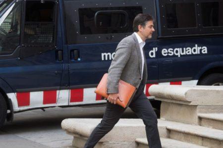 Oriol Pujol ingresa en la cárcel para cumplir condena por el caso ITV
