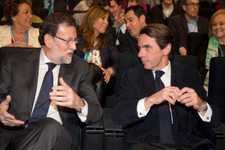 Rajoy y Aznar participarán en Convención Nacional del PP que arranca este viernes con el lema 'España en libertad'
