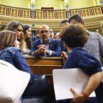 El PDeCAT de nuevo en defensa de Sánchez afirma que el Gobierno del PP iba a comprar armas para los Mossos