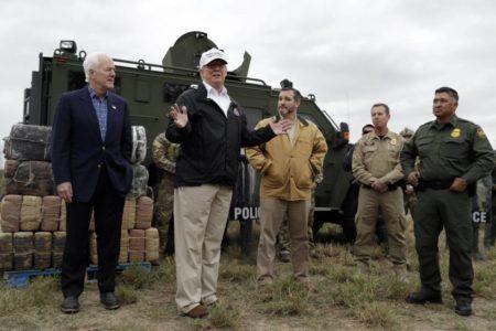 Trump estudia construir el muro con fondos para combatir catástrofes naturales