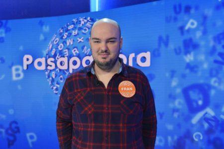 Fran se lleva el martes el bote de 'Pasapalabra': millón y medio de euros tras 168 programas