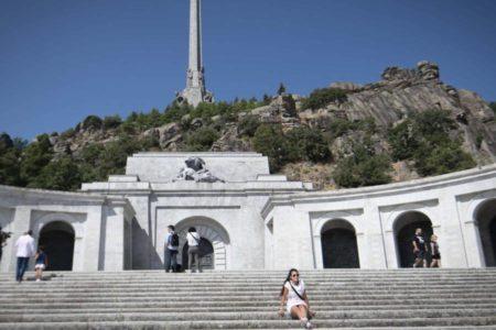 Las visitas al Valle de los Caídos subieron un 33,5% el año pasado respecto a 2017