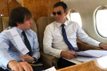 El PP pide explicaciones por el abuso del secreto oficial para ocultar los viajes de Sánchez en el Falcon